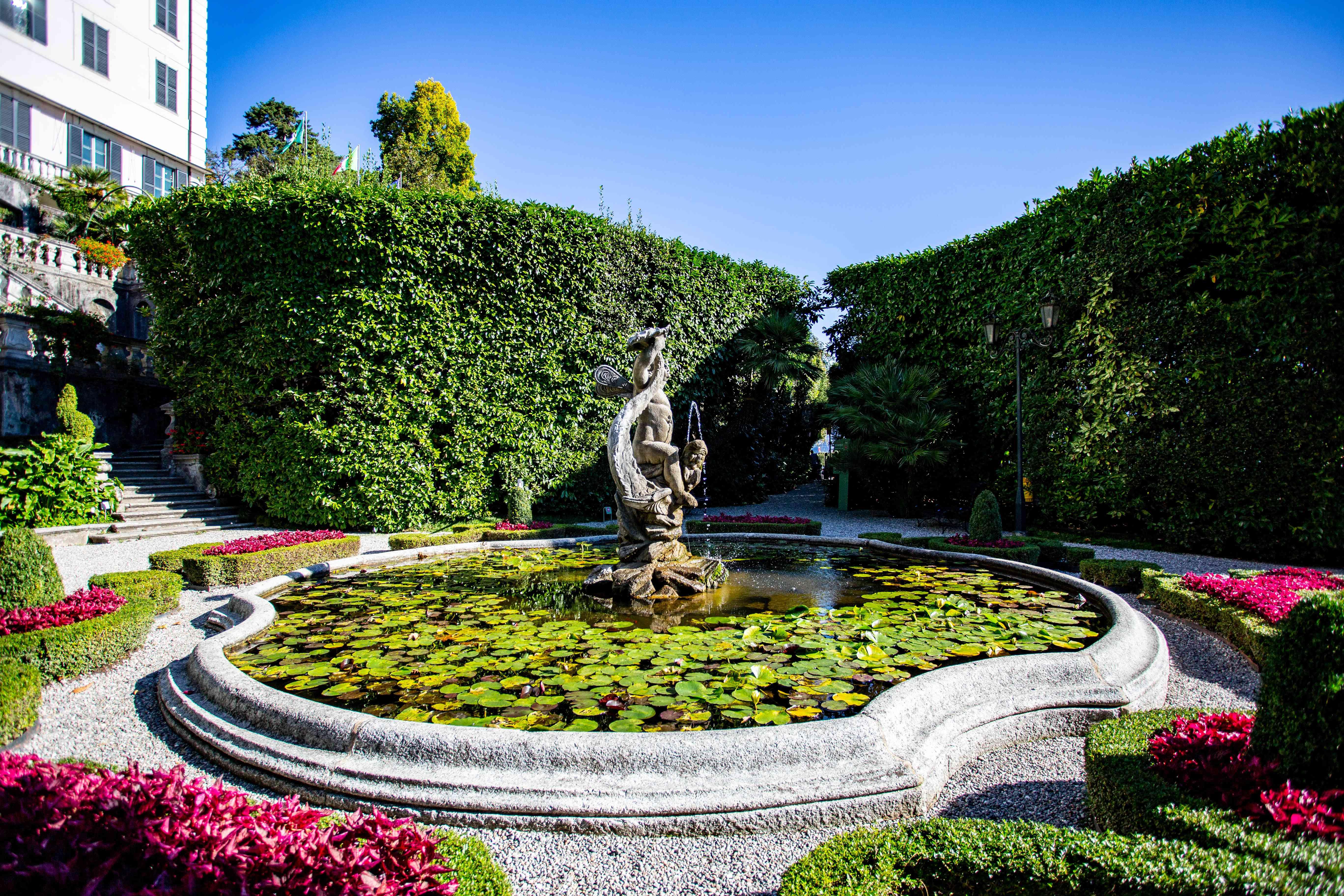 Gardens of Villa Carlotta, Lake Como, Italy