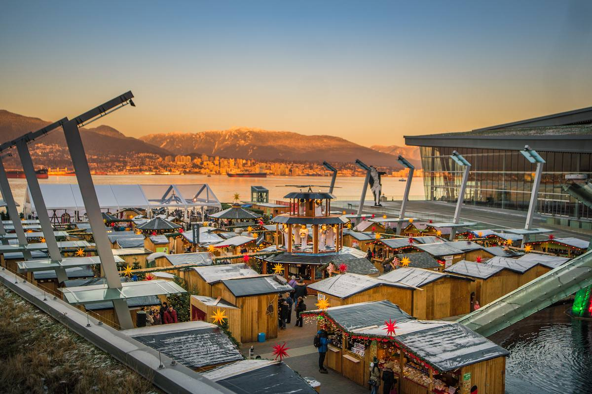 Vancouver Christmas Market.Top 5 Christmas Markets In Vancouver