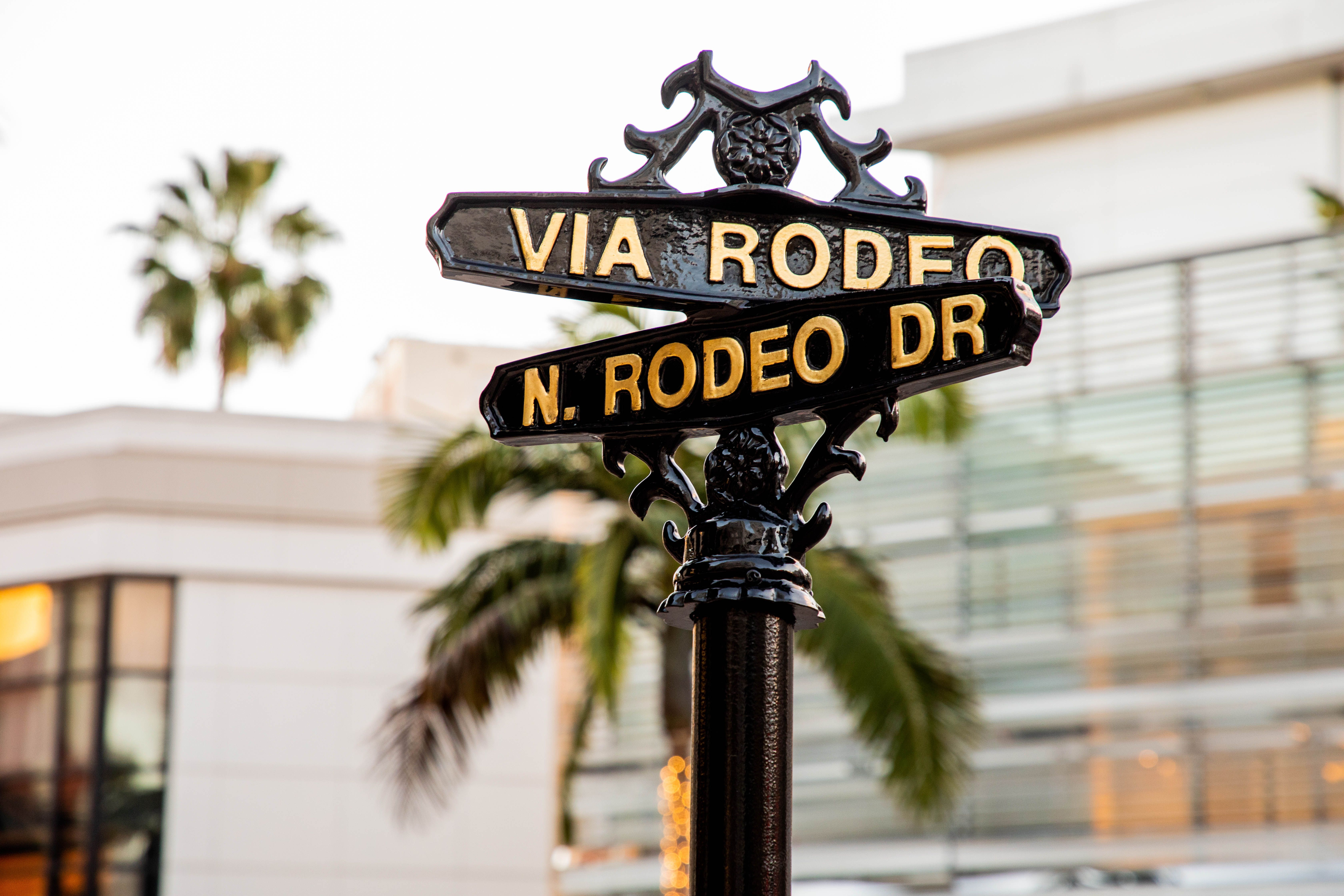 Stores Located On Rodeo Drive In Beverly Hills Ca