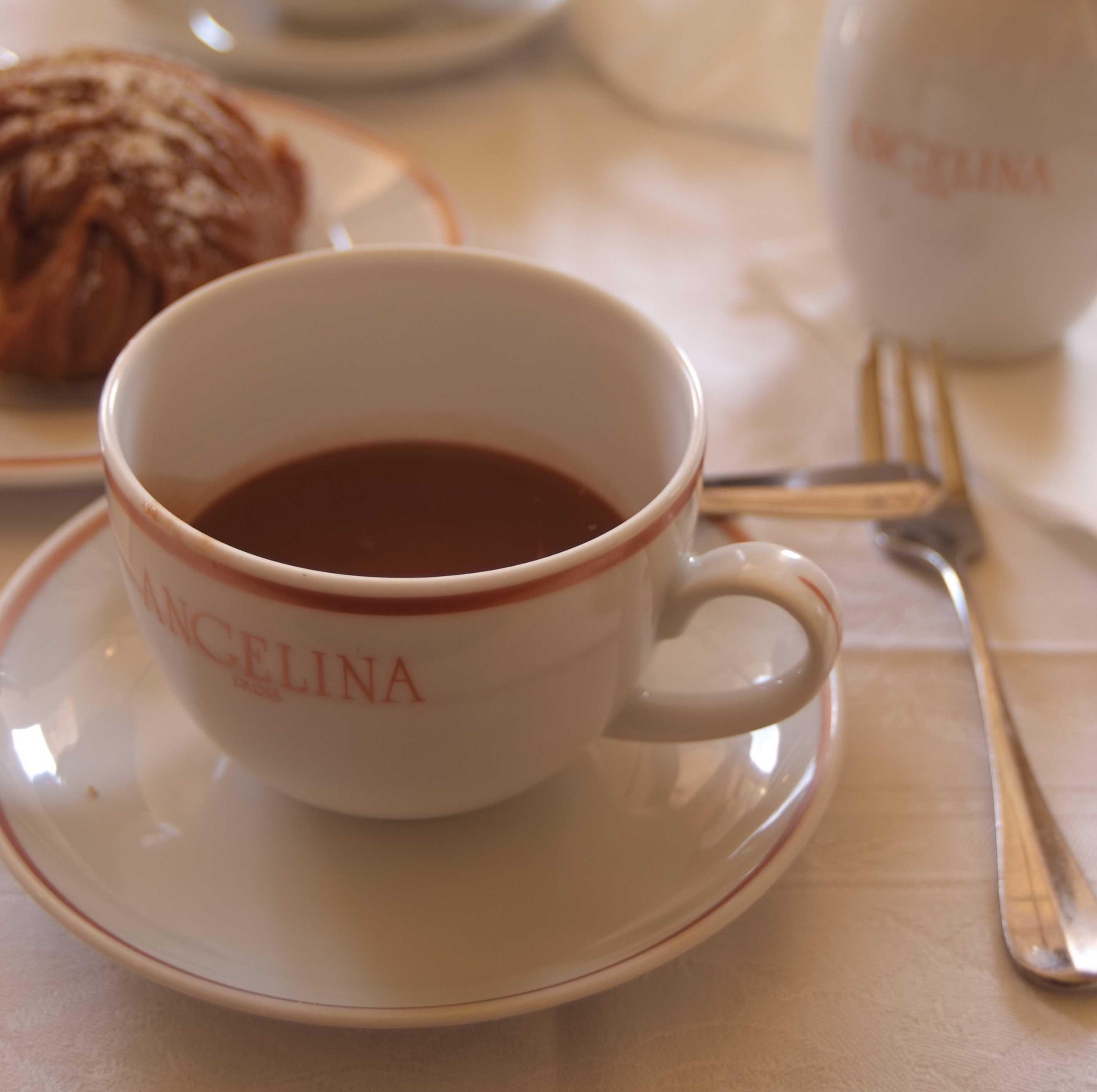 Hot Chocolate at Angekina