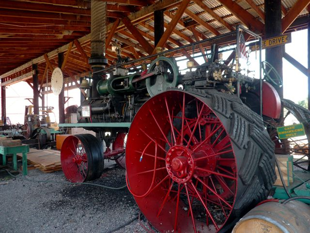 Old Forestry Equipment at Historic Fort Missoula