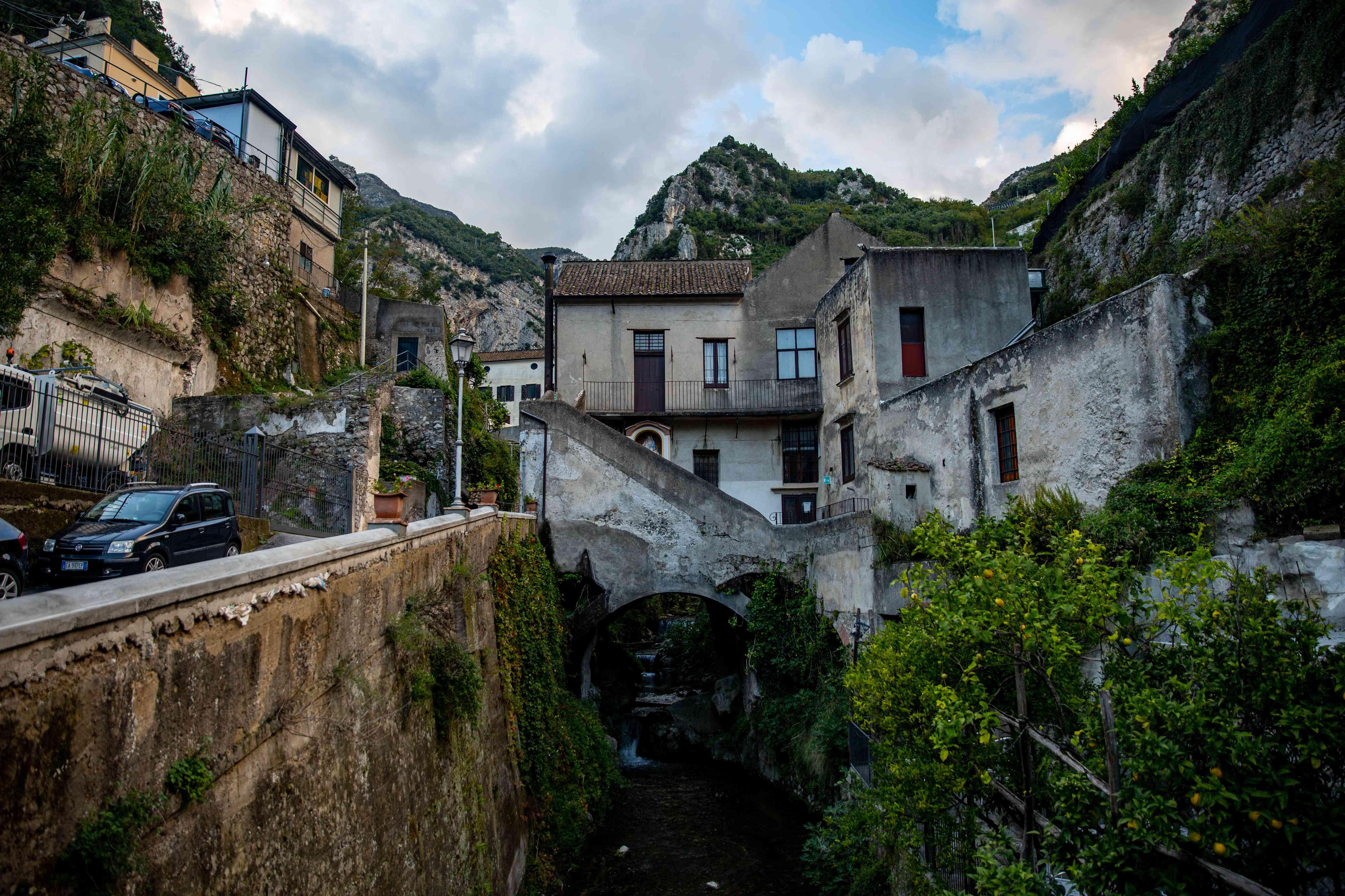 Valle dei Mulini in Sorrento, Italy