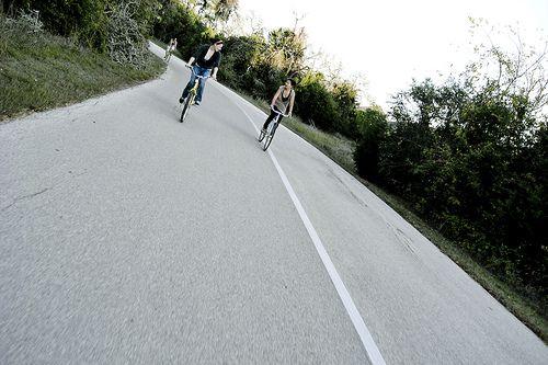 The Veloway bike trail in Austin