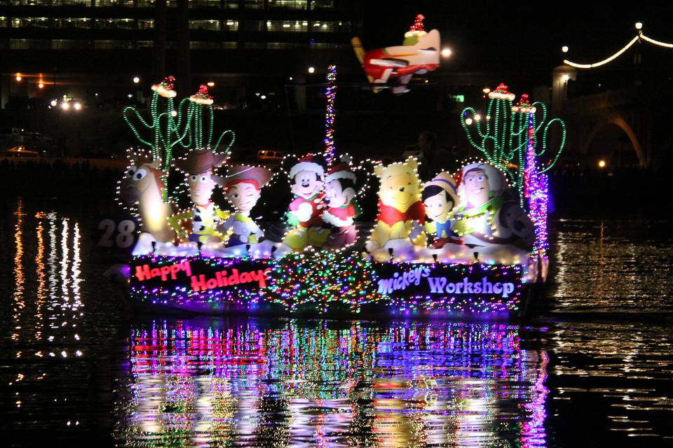 Tempe holiday boat parade