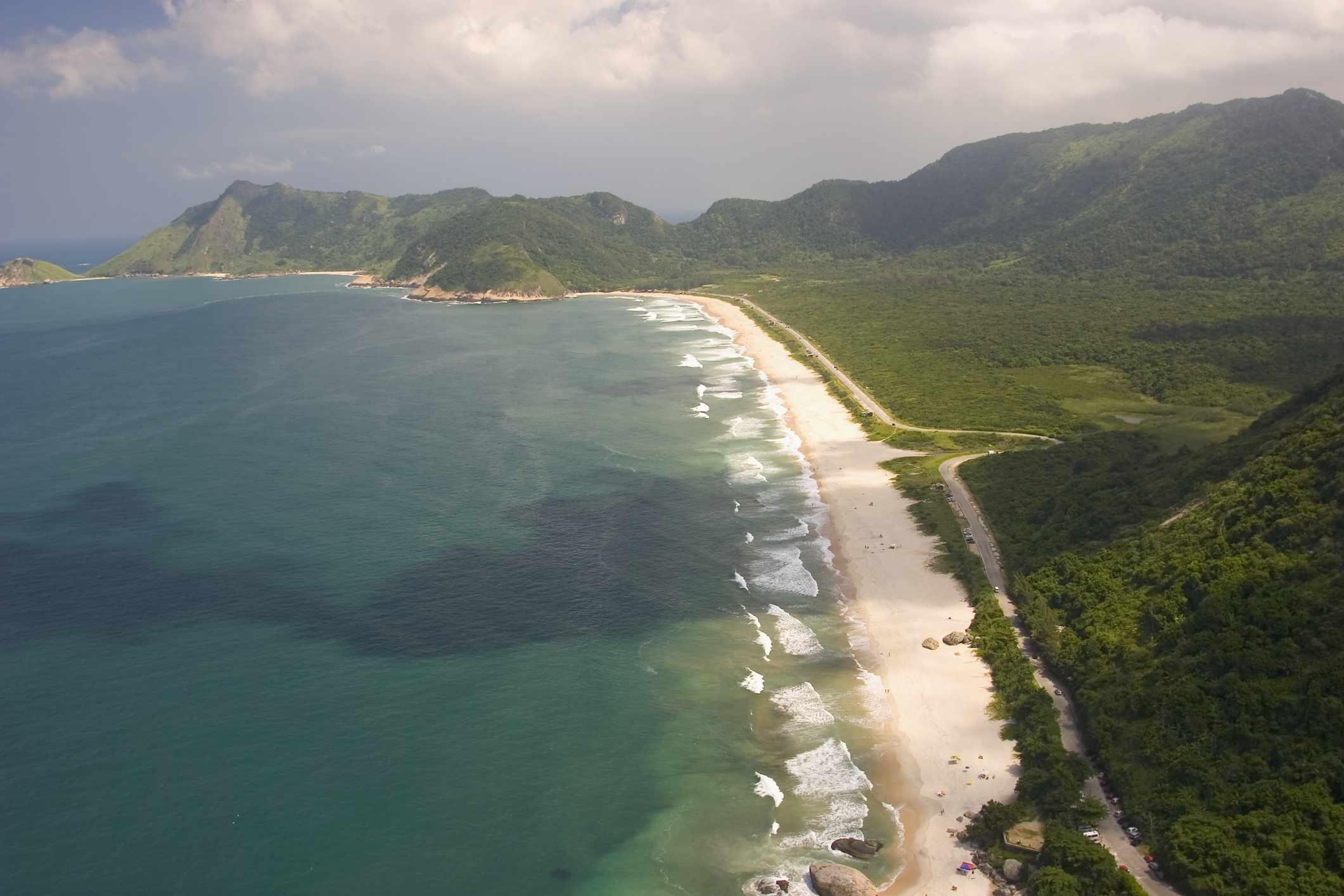 Grumari beach, RJ, Brazil