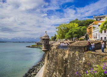 Old San Juan, the City Walls