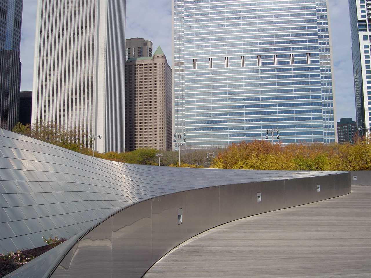 Millennium Park: BP Bridge