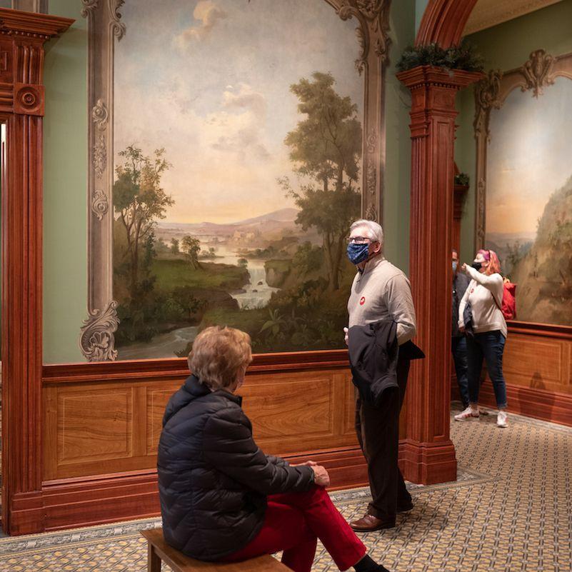 Duncanson Mural, Taft Museum of Art, Cincinnati