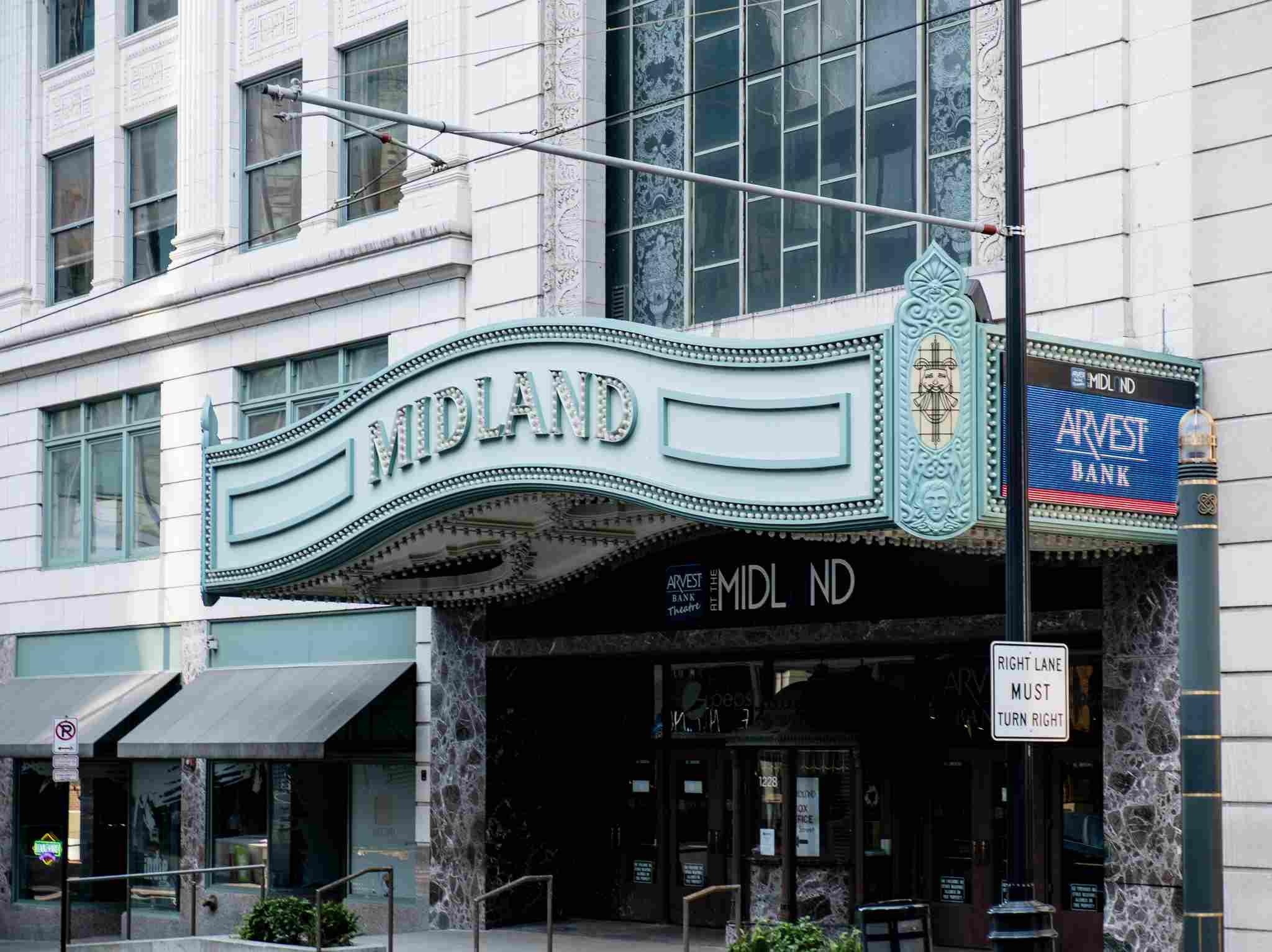 Arvest Bank Theatre at the Midland. Kansas City