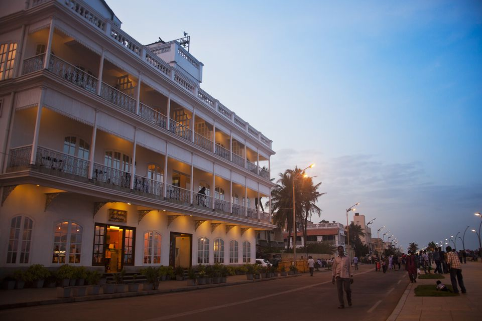 Lotus View Hotel en Pondicherry Promenade
