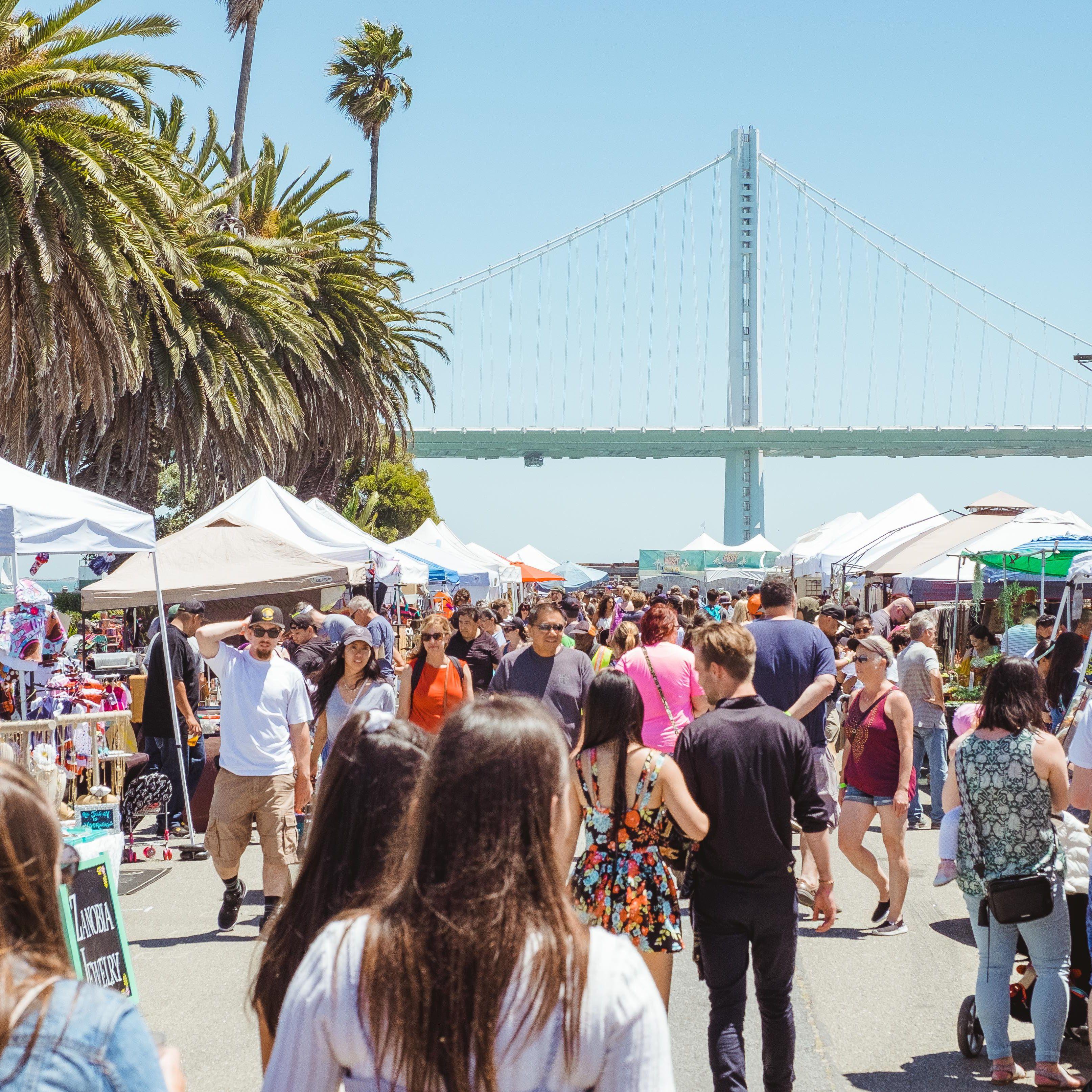 A Guide to TreasureFest: San Francisco's Treasure Island Flea Market