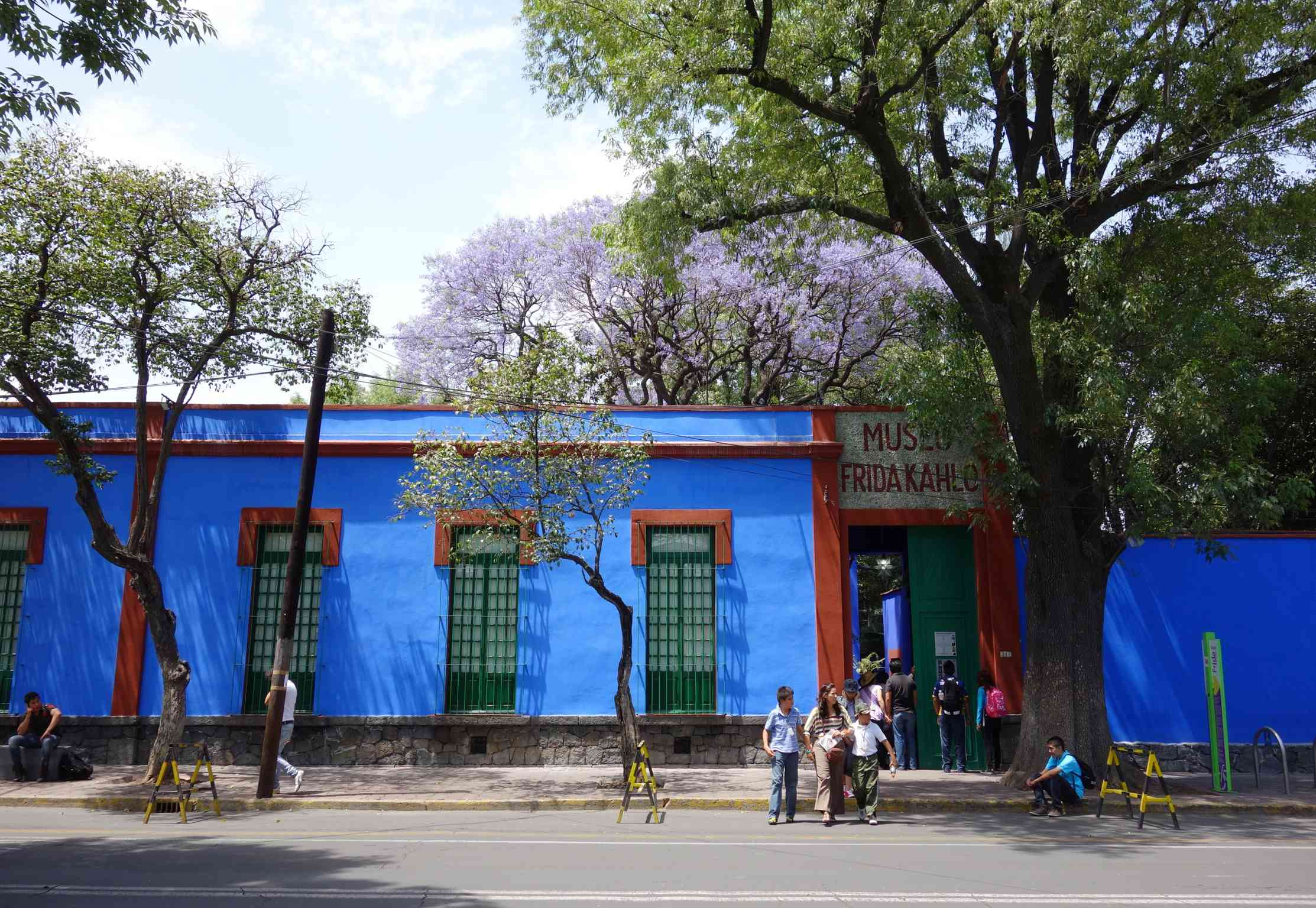 Frida Kahlo Museum in Coyoacan