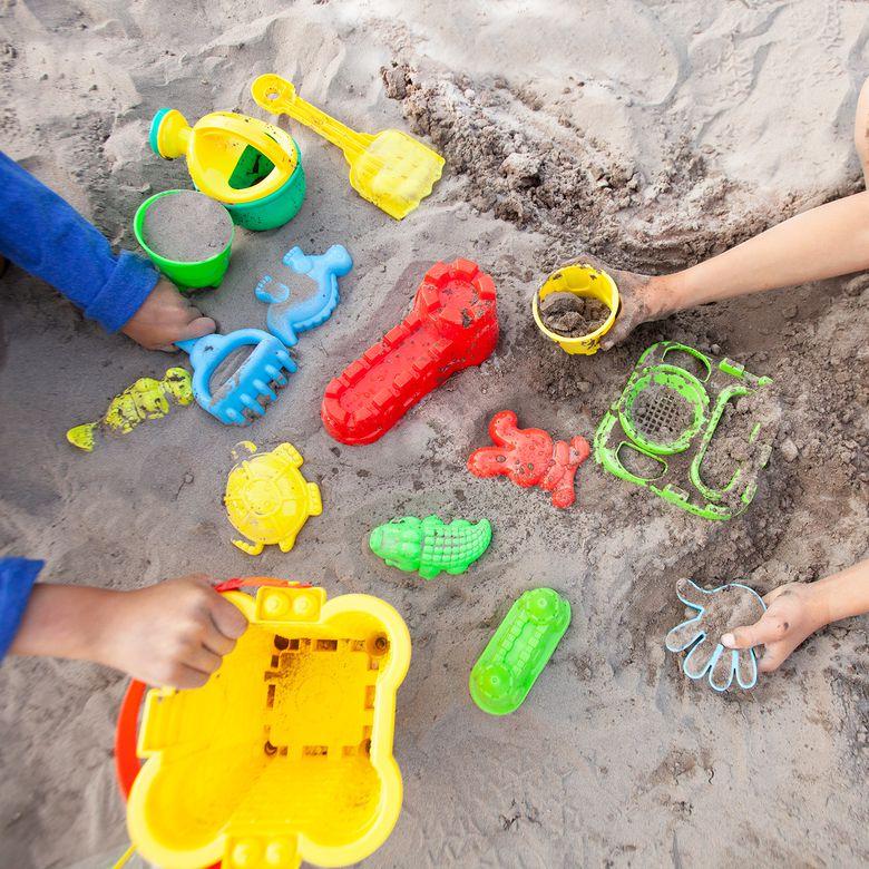 FoxPrint Beach Sand Toys Set