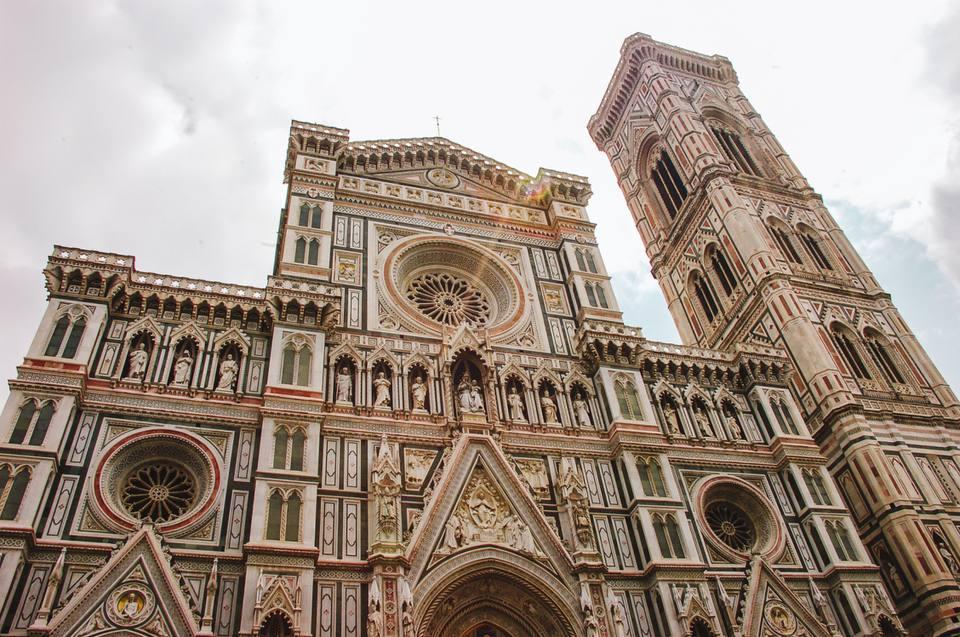 El exterior del Duomo