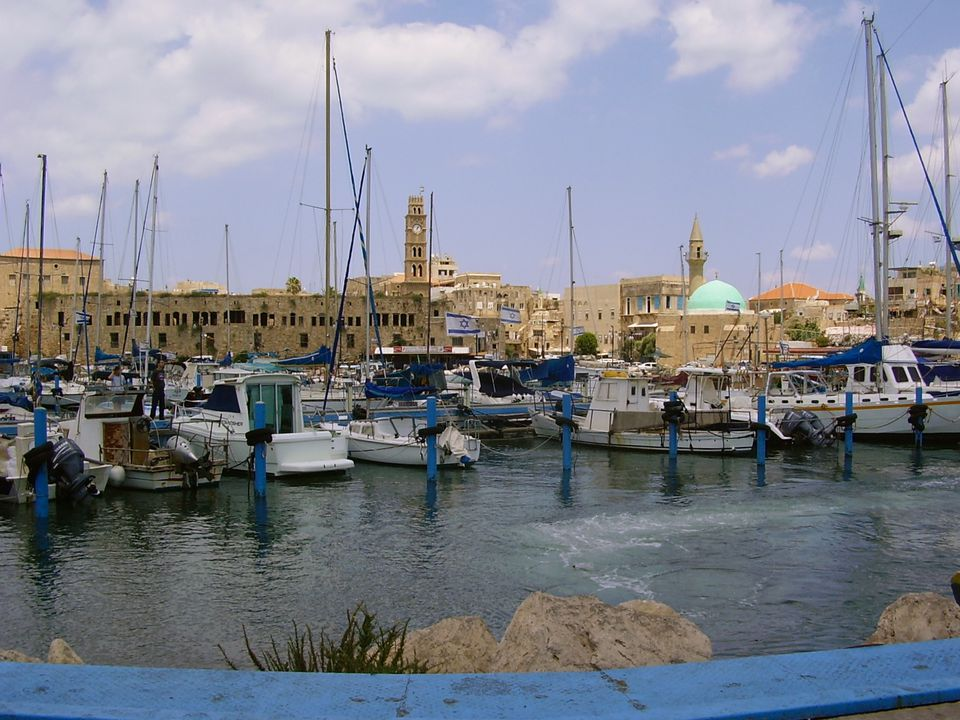 Take a break from the Crusades and amble along Akko's waterfront.