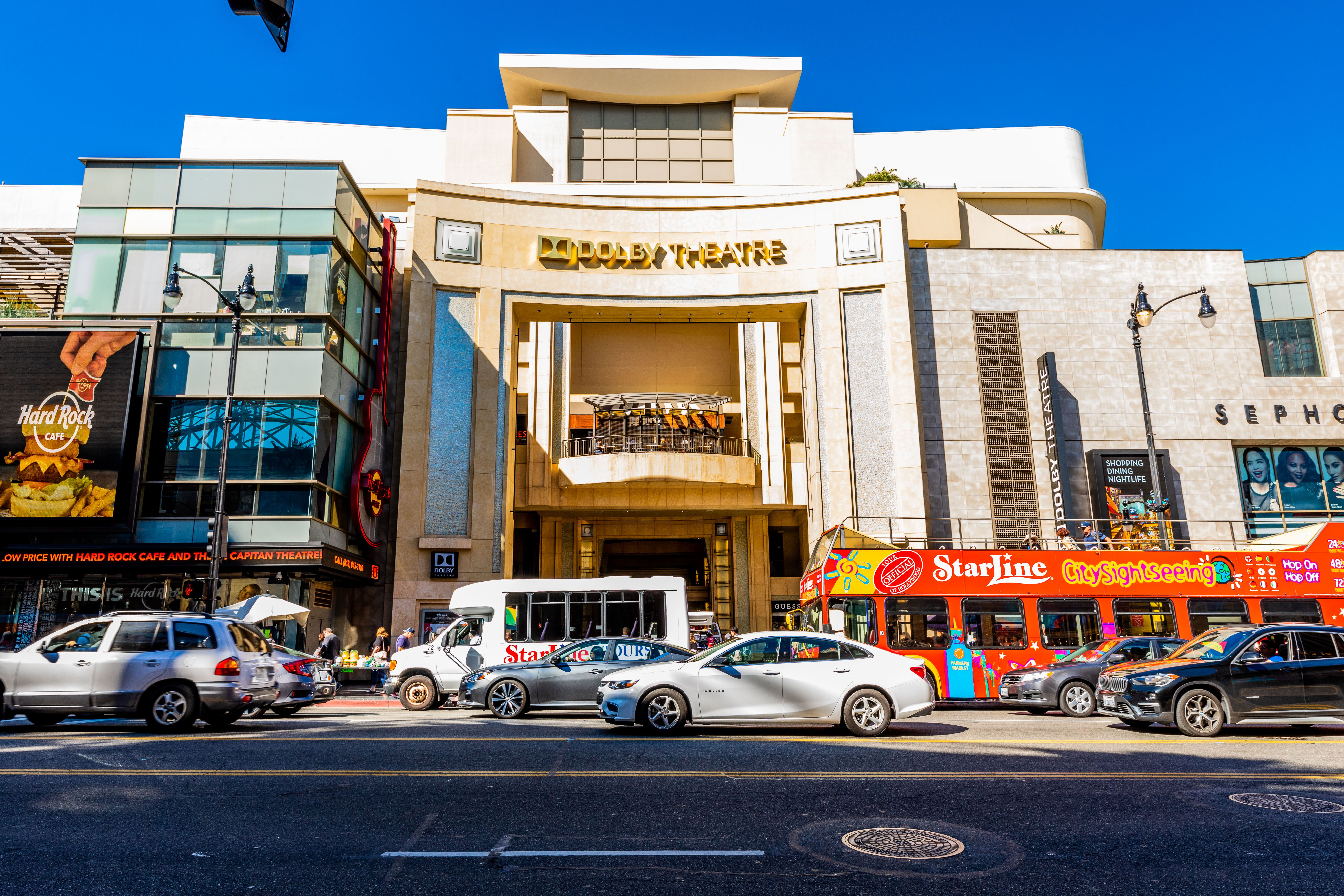 Exterior of the Dolby Theatre