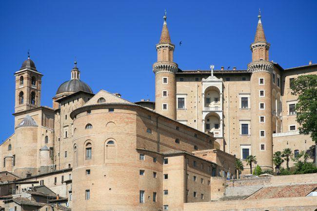 urbino photo, ducal palace photo