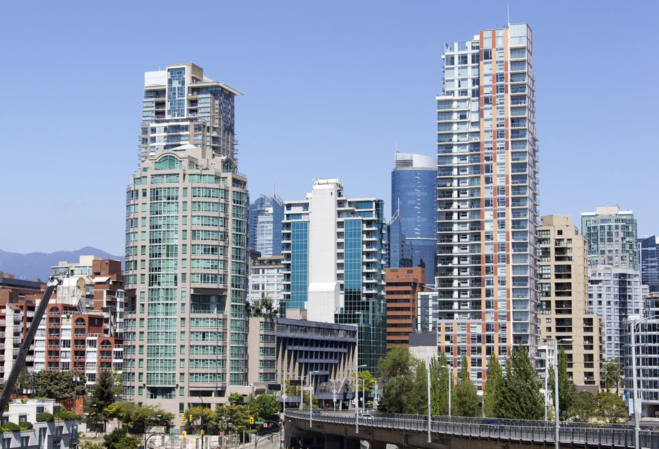 Vancouver's Davie Village Skyline