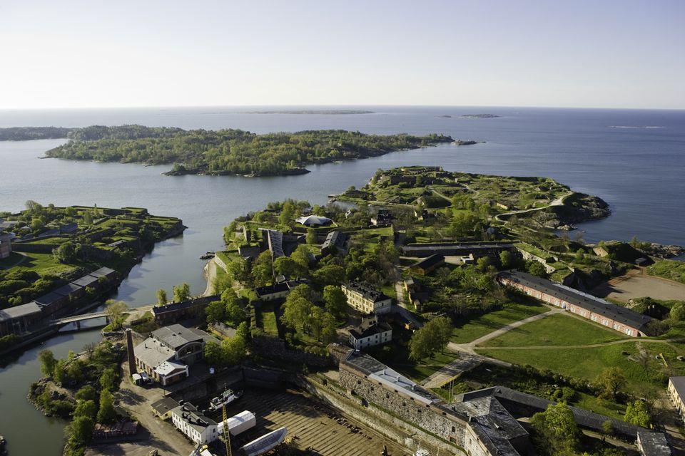 Suomenlinna Sea Fortress in Helsinki, Finland