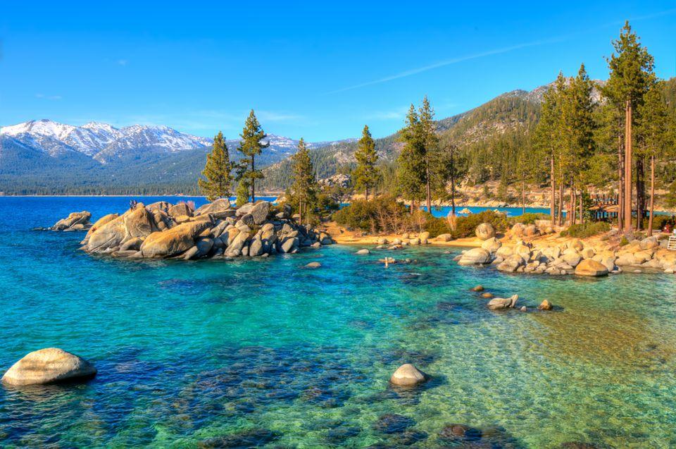 Sand Harbor State Park, Lake Tahoe, Nevada