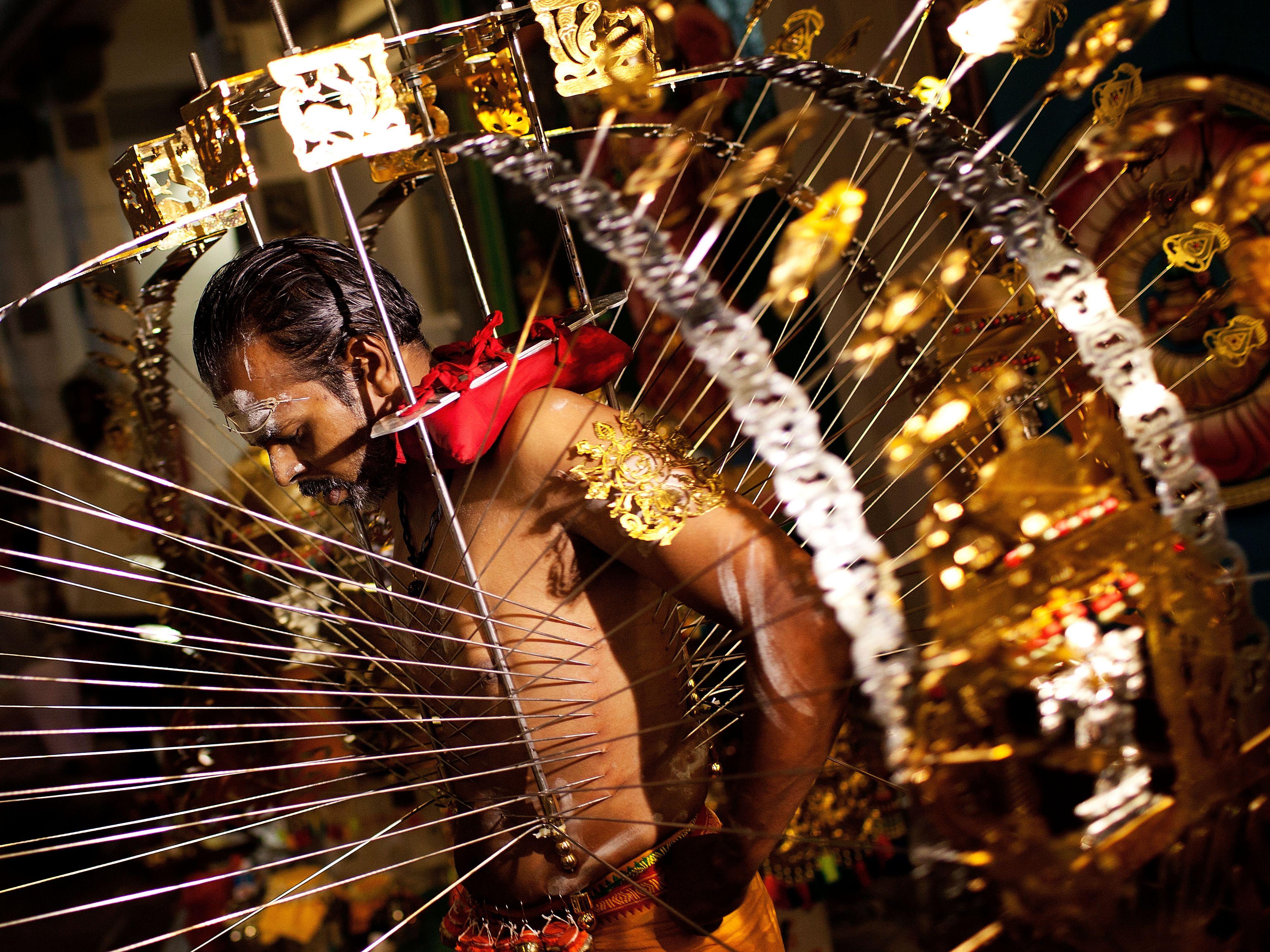 Thaipusam: Why Do People Pierce Their Bodies?
