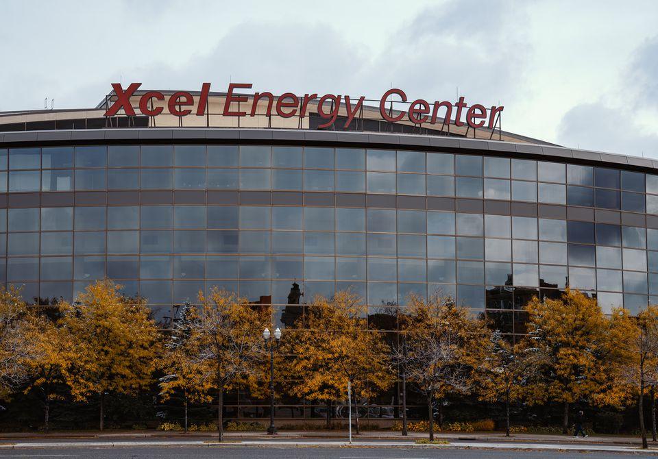 Xcel Energy Center St Paul