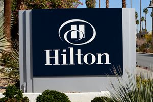 Hilton Hotel in Palm Springs, California