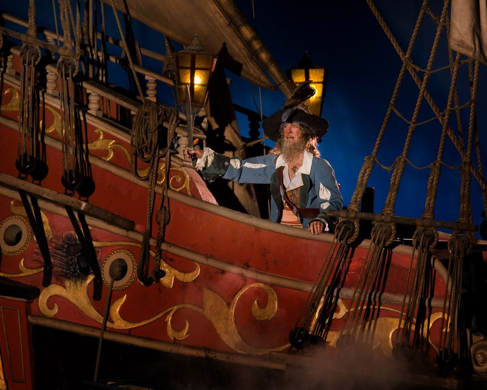Pirates of the Caribbean at Disney World