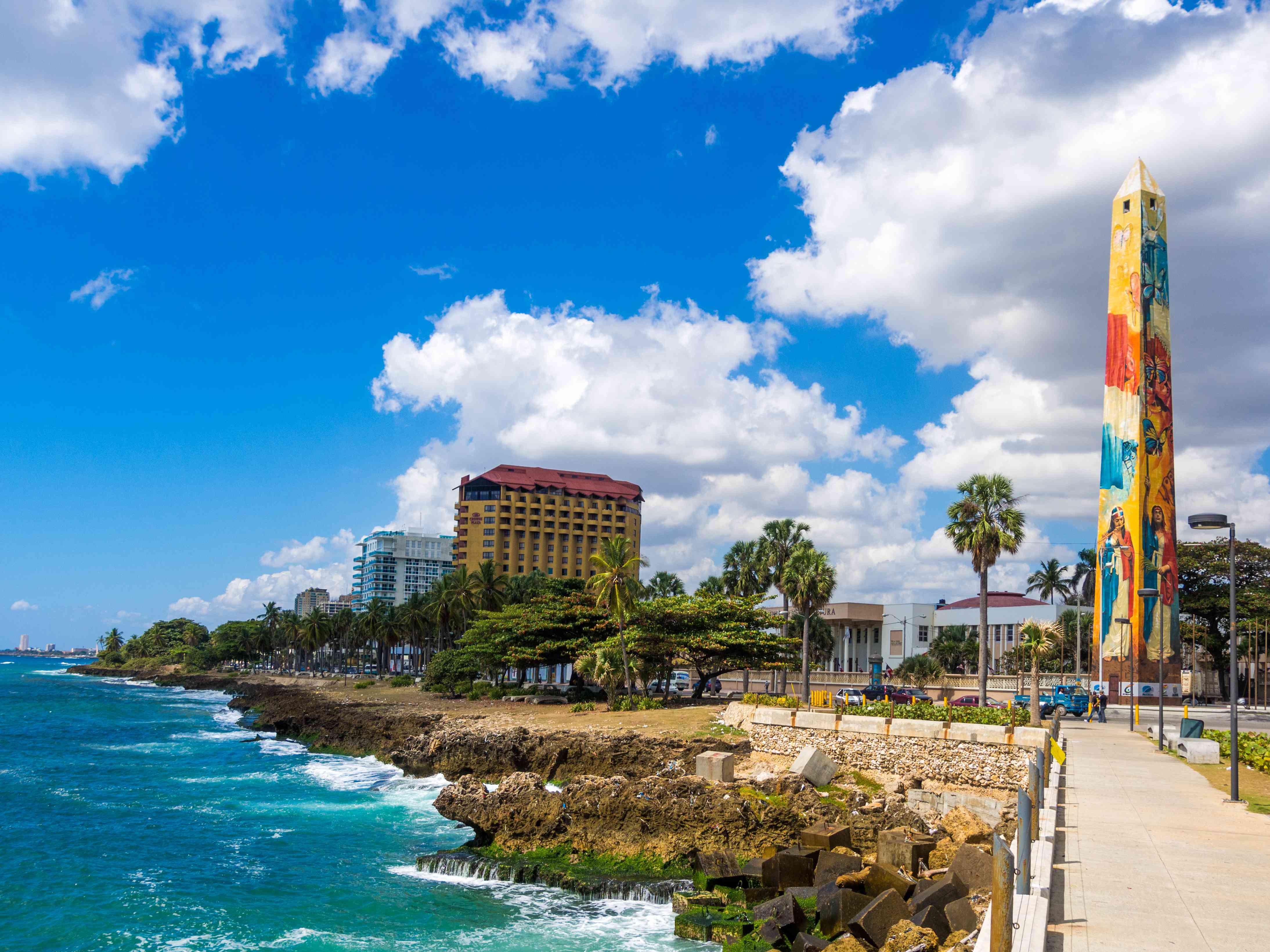 Santo Domingo waterfront, Dominican Republic
