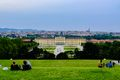 View of Vienna and Schronbunn Palace for a hill