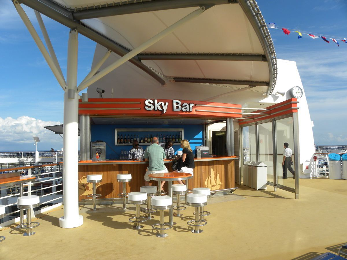 Oasis of the Seas Sky Bar