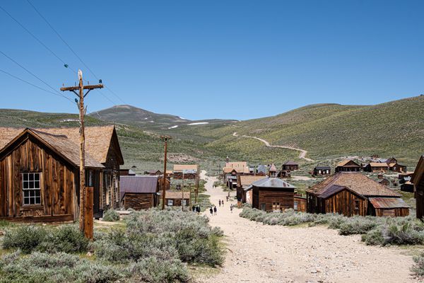 Bodie, a California State Park, A ghost town that was a wild west mining town.