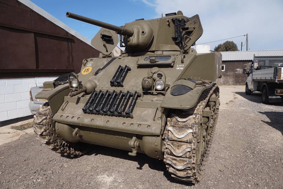 Exhibición de tanques en el Museo del Ejército y Artillería de Australia
