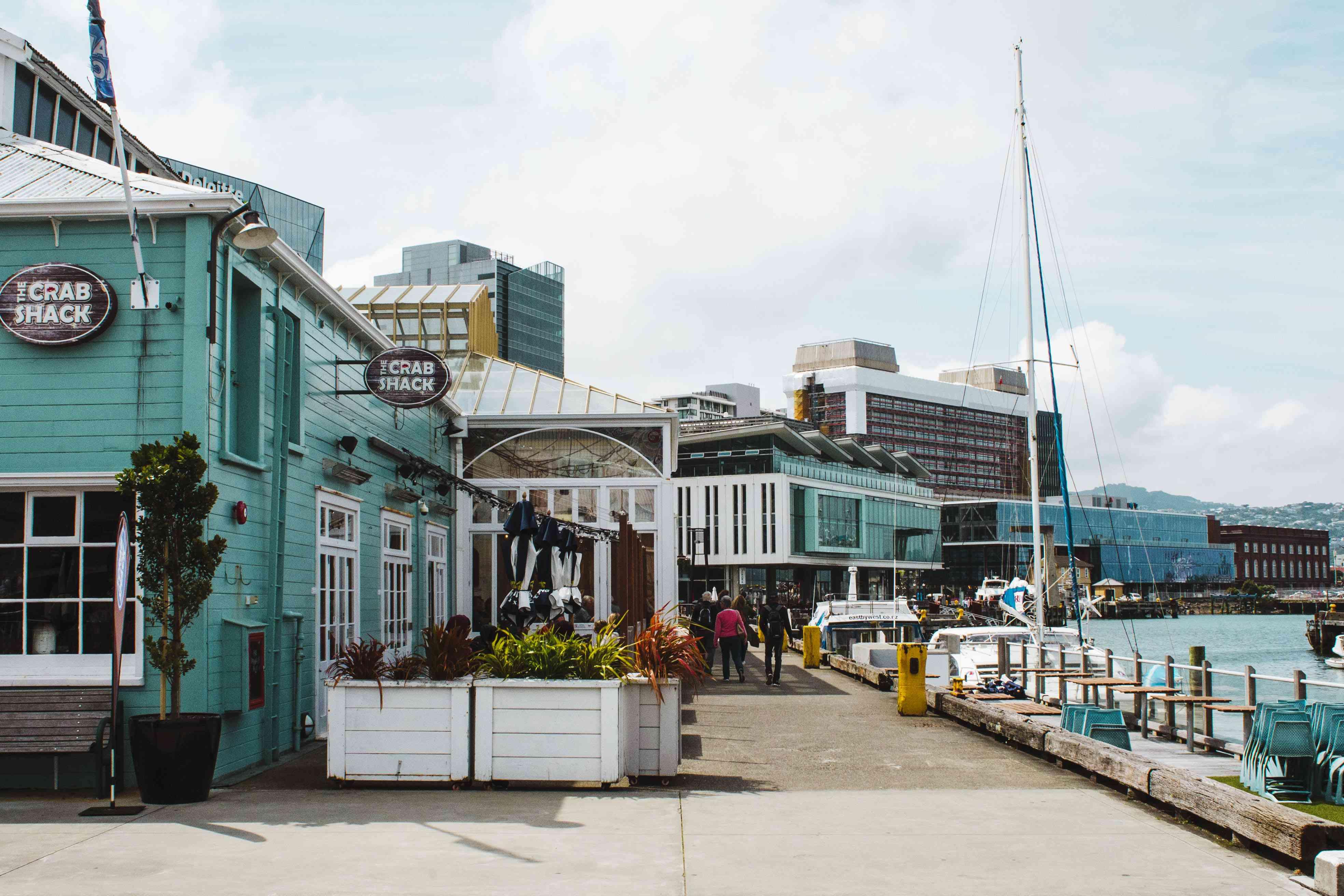 Queen's Wharf en Wellington