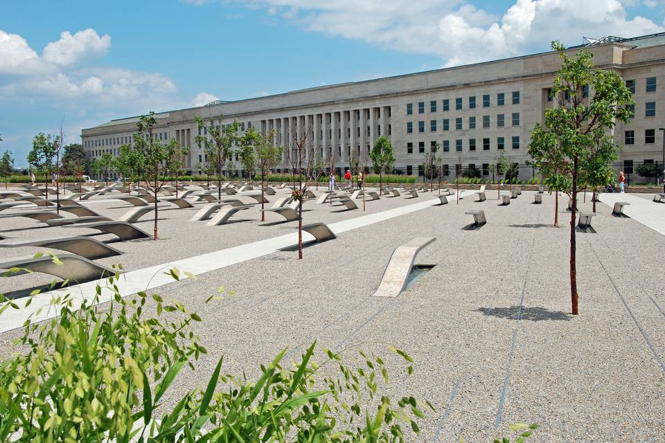 Pentagon memorial in Washington DC