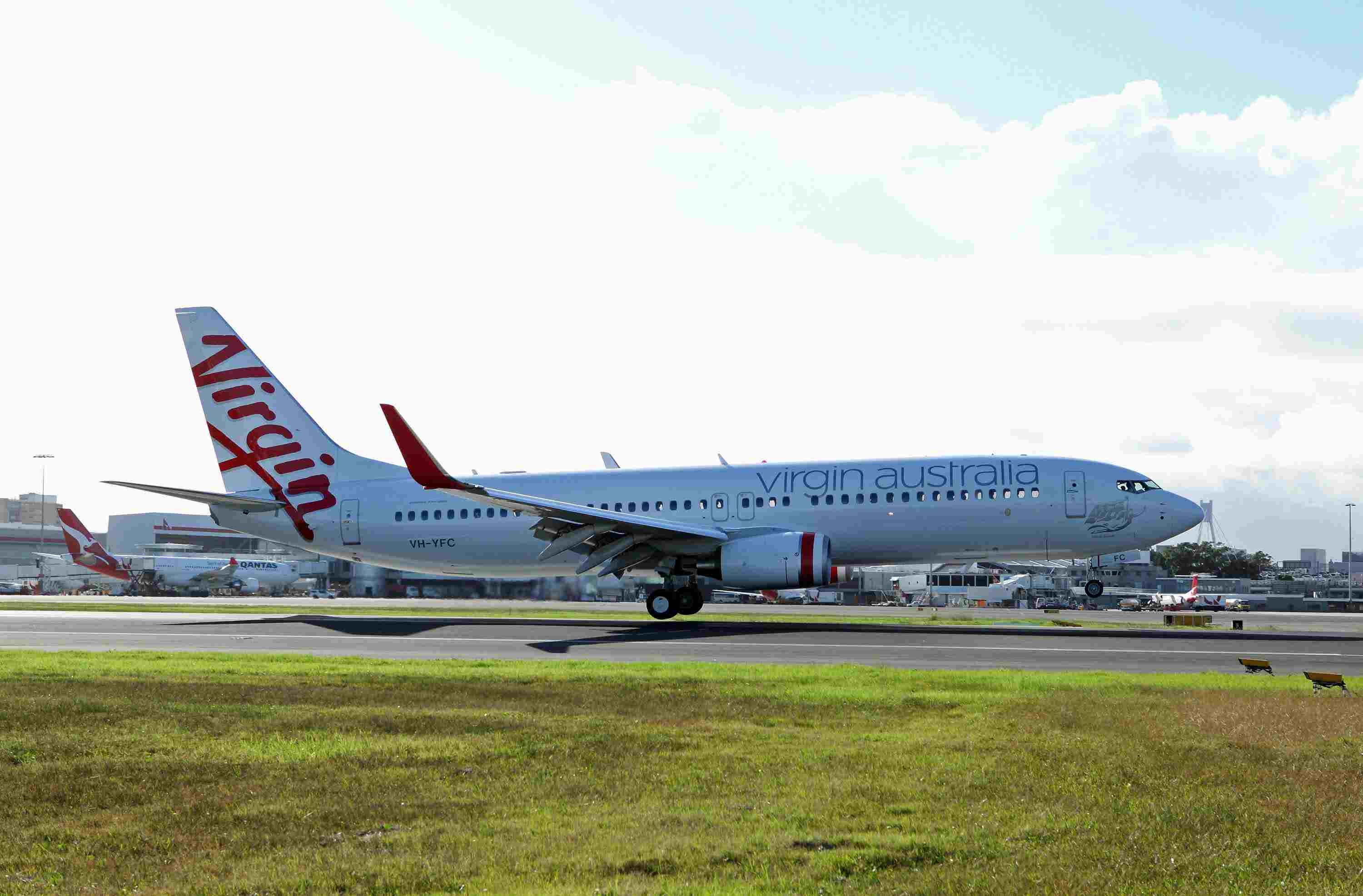 Virgin Australia offers low-cost air travel options.