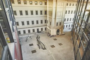 Seeing the Picasso sculpture from above