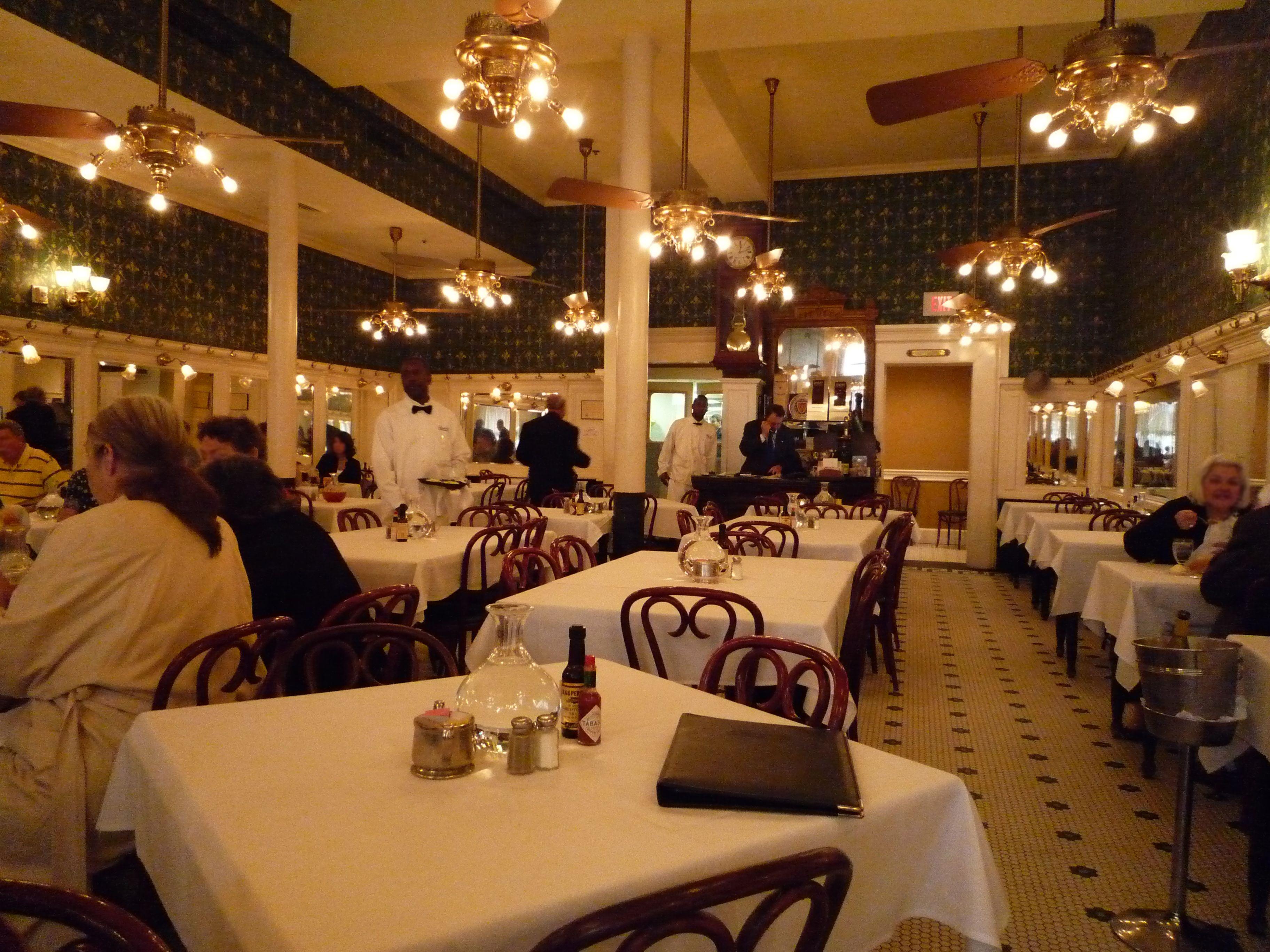 New Orleans Old Line Restaurants