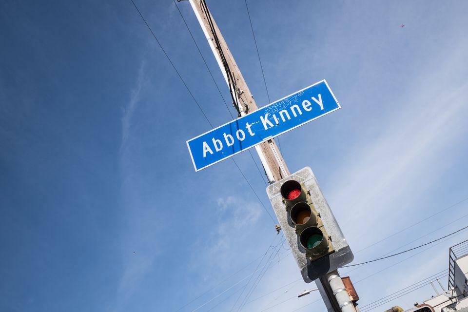 Abbot Kinney Boulevard Los Angeles