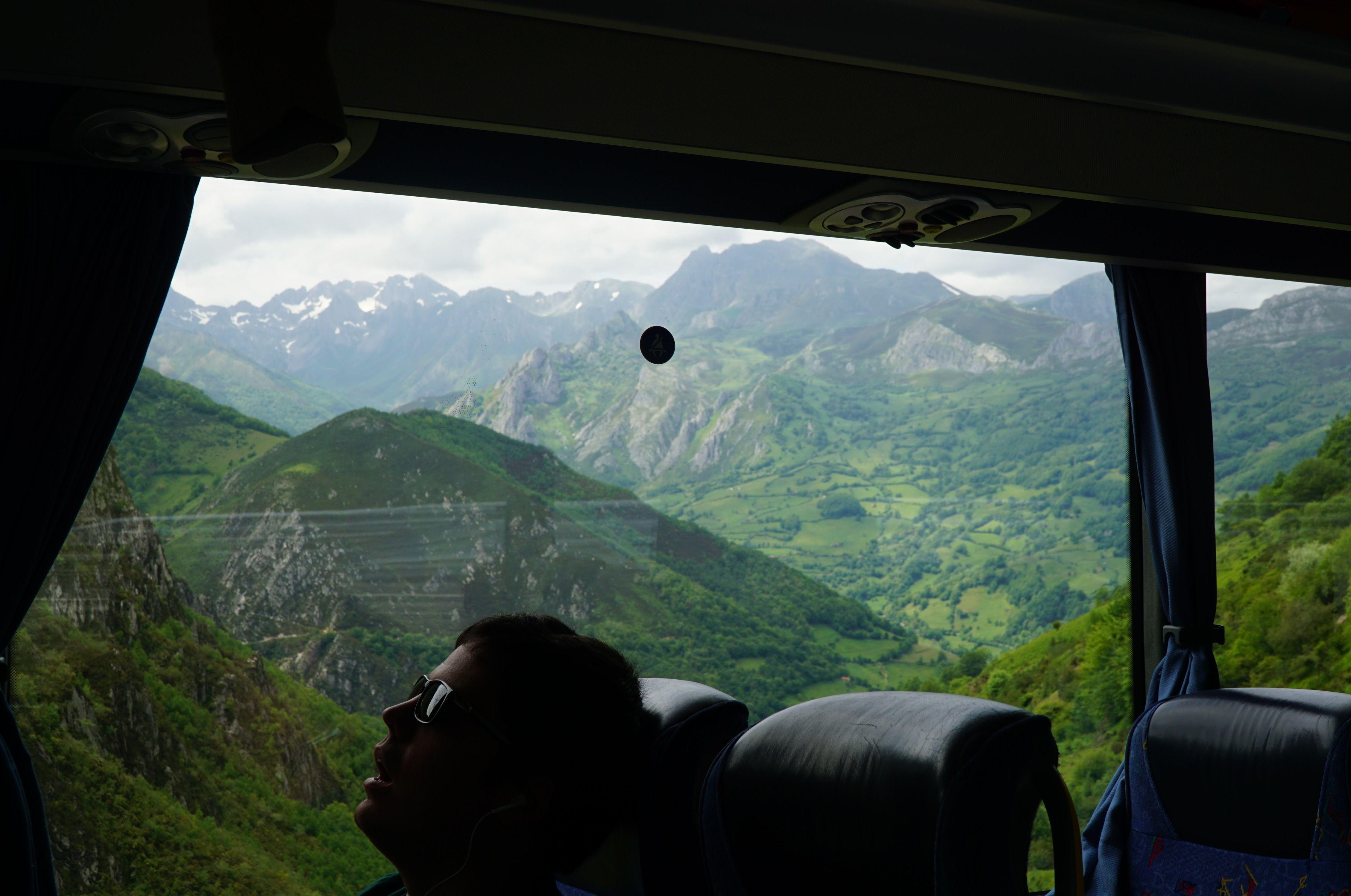 Bus to Oviedo