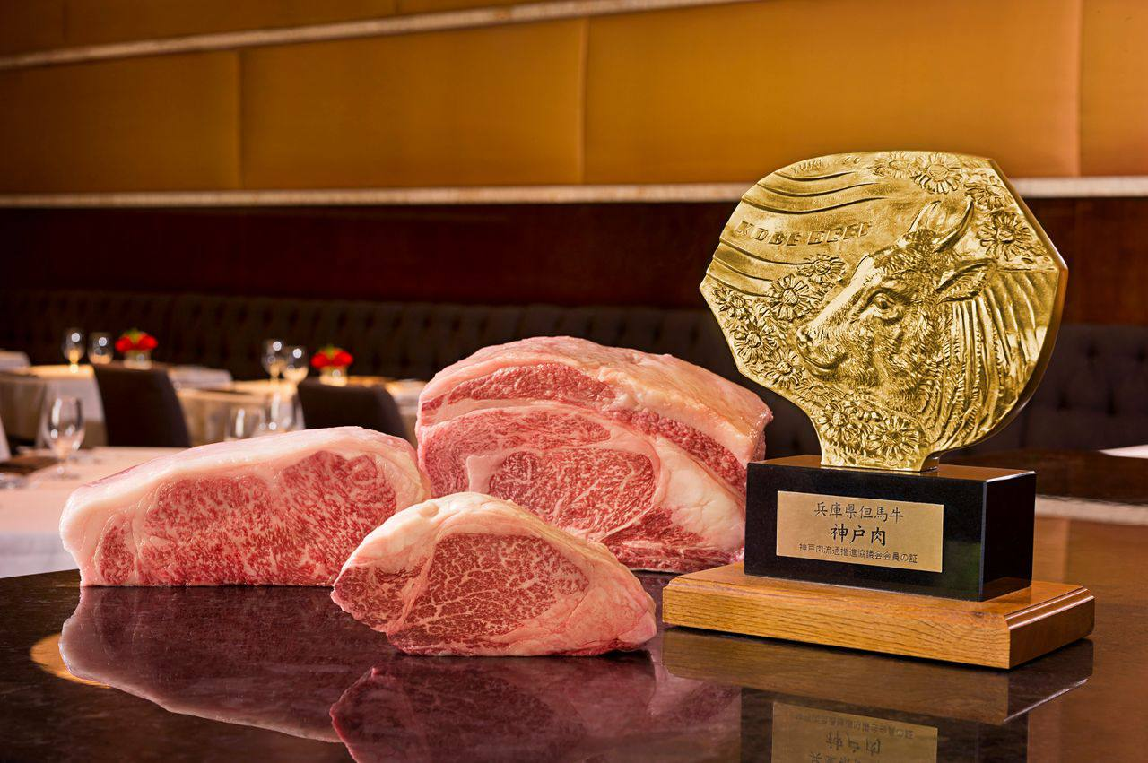 Kobe beef at SW Steakhouse