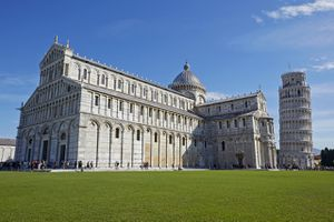 Duomo and the leaning tower of Pisa