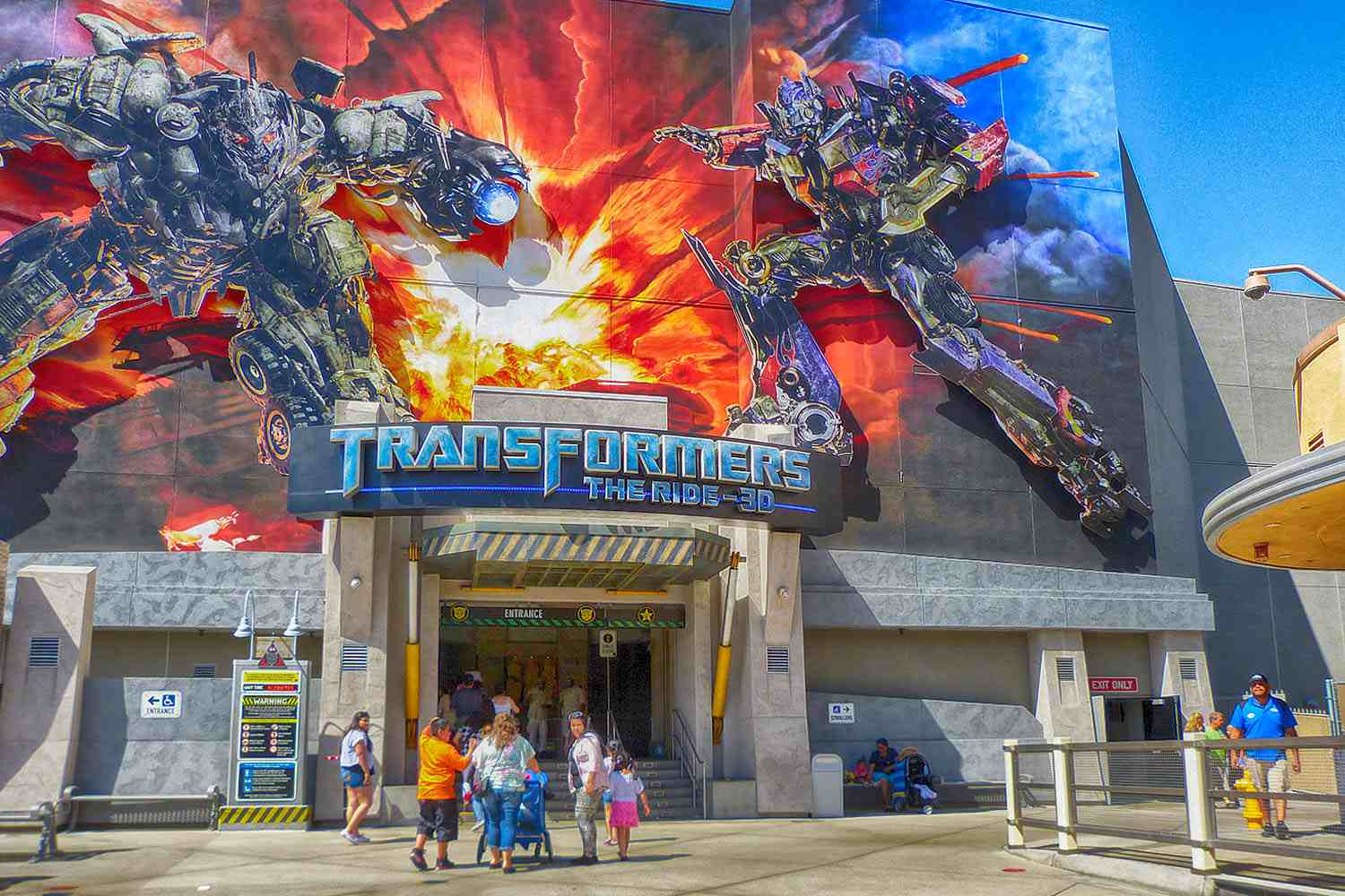 Transformers: The Ride-3D