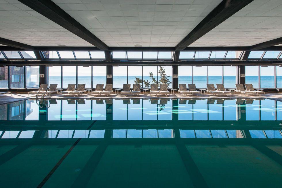 The saltwater spa at Gurney's Montauk Resort & Seawater Spa
