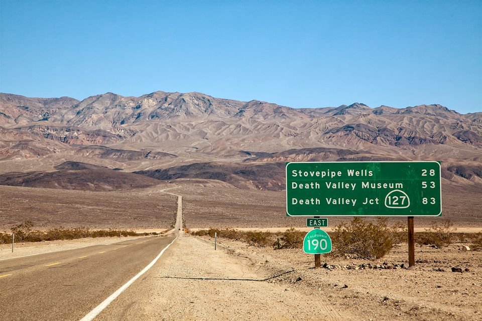 Image result for picture of death valley traffic cop