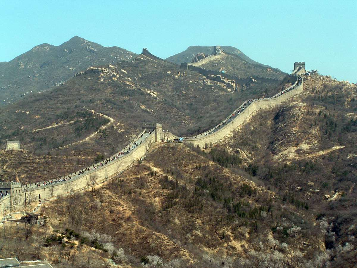 Great Wall of China near Beijing