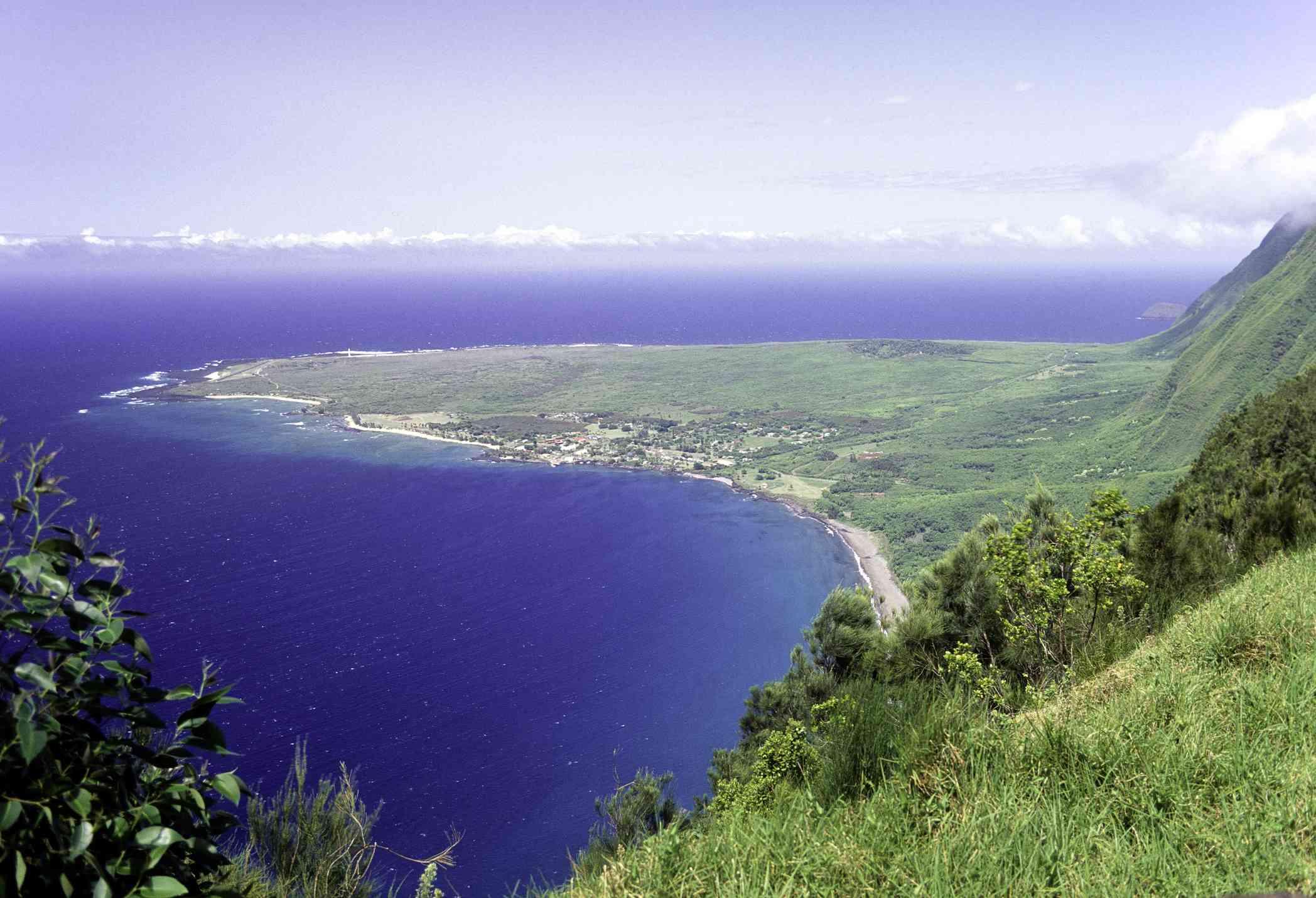 Kalaupapa Peninsula on Molokai