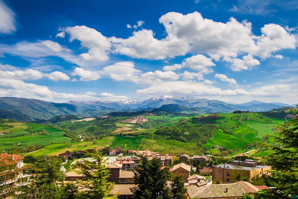 Camerino in Marche, Italy