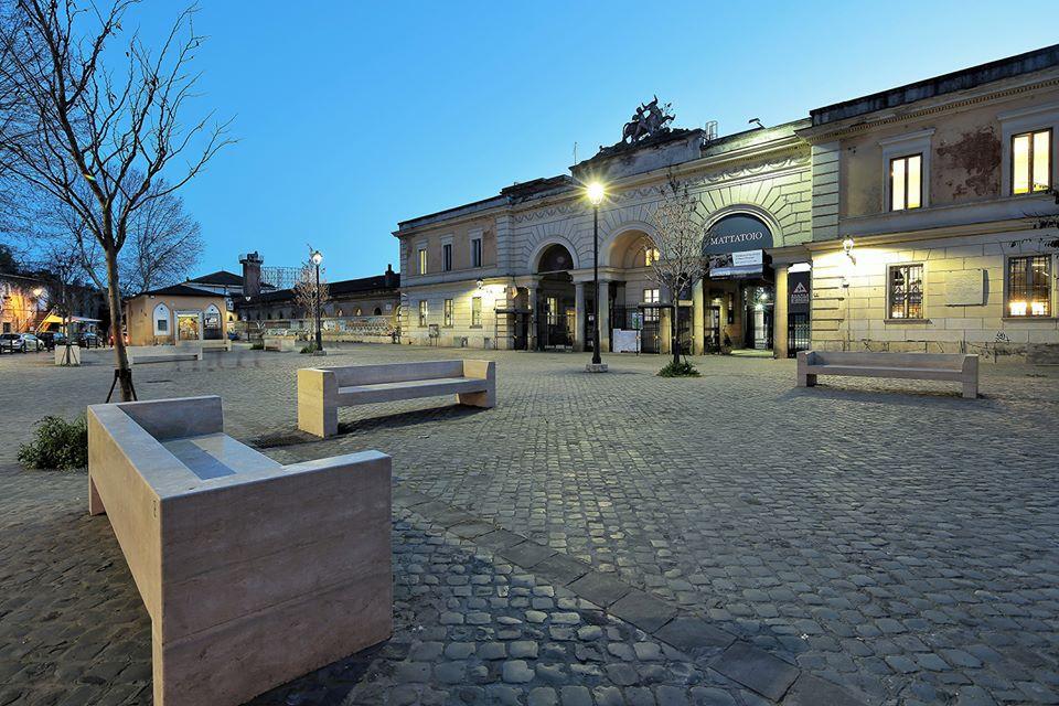 Exterior of Mattatoio Roma