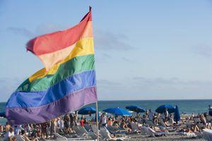Gay Pride Flag in Florida